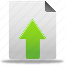 document, file, upload, upload document icon