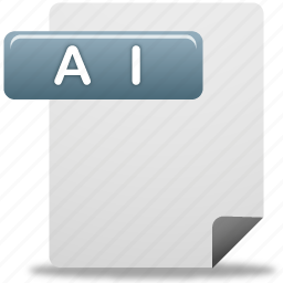 ai file, document, file icon