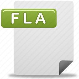 document, file, flash file icon
