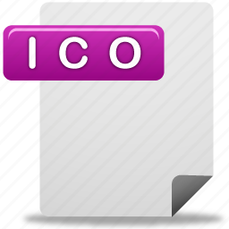 document, file, ico, ico file icon