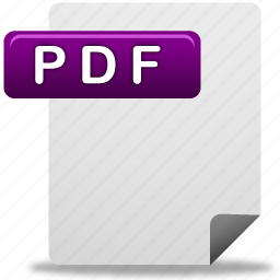 document, file, pdf, pdf file icon