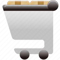 cart, full, shopping, shopping cart, shoppingcart icon