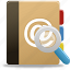addressbook, phonebook, search, search addressbook, search phonebook icon