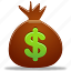 budget, coins, money icon