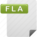 document, file, flash, flash file icon