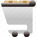 cart, full, products, shopping, shopping cart icon