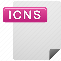 document, file, icns, icns file icon