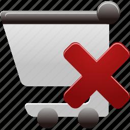 Cart Delete Remove Shopping Shopping Cart Icon