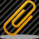 attachment, pin icon