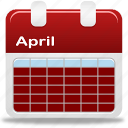 calendar, month, selection icon