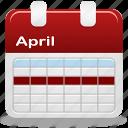 week, calendar, selection icon