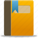 addressbook, book, content icon