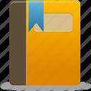 addressbook, book, content icon