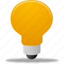 bulb, examples, lamp bulb icon