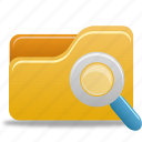 explorer, file, folder, search icon