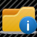 folder, folder info, info icon