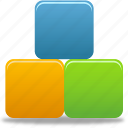 organization, products, squares icon