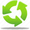 arrow, arrows, cycling, loop, repeat, rules icon