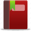addressbook, book, phonebook, scorm, sorm book icon