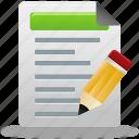edit, document, file, tests