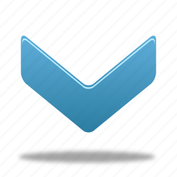 arrow, down, down navigate, navigate icon