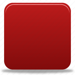 red, square, stop icon
