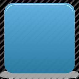 square, stop icon