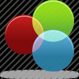 circles, themes icon