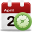 calendar, clock, schedule icon