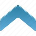 navigate, up icon
