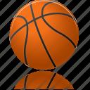ball, sport, basketball, training