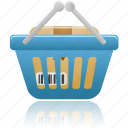 basket, business, buy, cart, ecommerce, full, shopping, webshop icon
