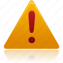 alert, attention, danger, error, exclamation, problem, remove, warning icon