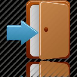 Login Door Icon