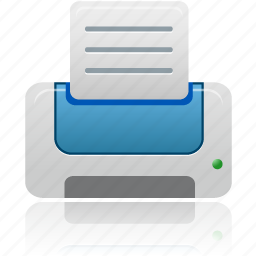 blue, document, documents, file, paper, print, printer icon