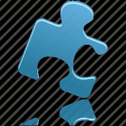 component, part, piece, plug-in, plugin, puzzle icon