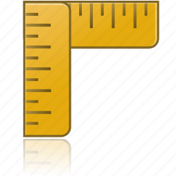education, learning, math, measure, ruler, rulers, school, study, tool, tools icon