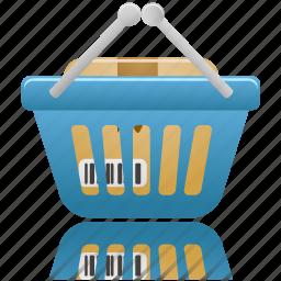 basket, business, buy, cart, ecommerce, full, shopping, webshop icon