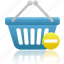basket, business, buy, cart, ecommerce, prohibit, shopping, webshop icon