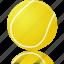 ball, sport, tennis, training icon