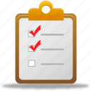 check list, checklist, list, order, to-do, todo icon