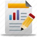 bar, business, chart, charts, custom, diagram, edit, finance, financial, graph, report, reports, statistics icon