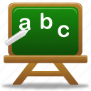 lessons, write, school, education, study, letters, letter, learning icon