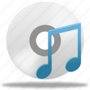 audio, disc, music, play, sound icon