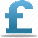 pound, currency, cash, money, finance icon