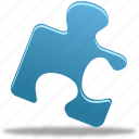 part, piece, plug-in, plugin, puzzle icon