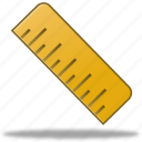 education, math, measure, ruler, rulers, school, study, tool, tools icon