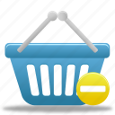 basket, prohibit, shopping, buy, cart, business, ecommerce, webshop, finance icon