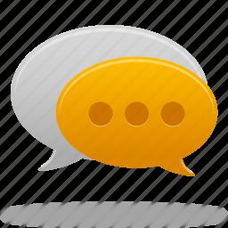 Bubble Chat Comment Communication Message Speech Talk Icon