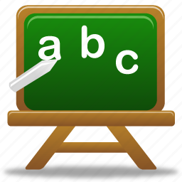 education, learning, lessons, letter, letters, school, study, write icon